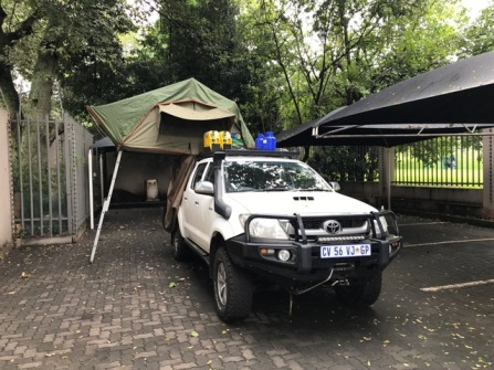 Hilux from front